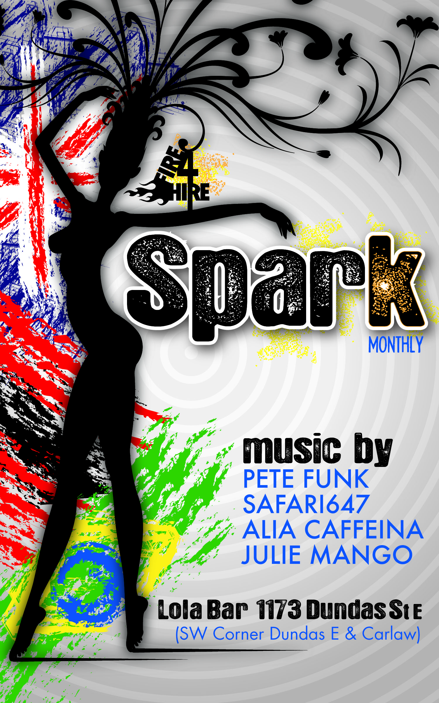 Spark Carnival Lola Bar Fire 4 Hire Soundsystem